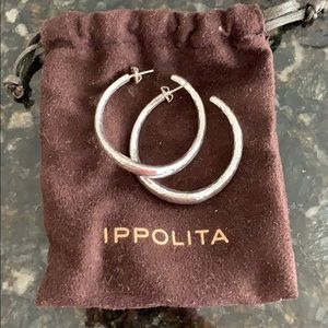 IPPOLITA Classico hoop earrings